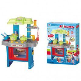 G21 Hračka G21 Dětská kuchyňka DELICACY s příslušenstvím, modrá