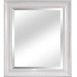 Tempo Kondela, s.r.o. Zrcadlo, dřevěný rám bílé barvy, MALKIA TYP 2