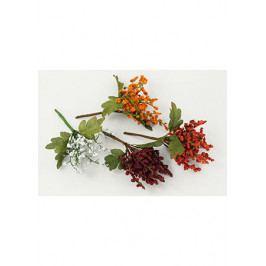 Autronic Větvička, umělá dekorace,  mix 4 druhů, 12 kusů v sáčku , cena za 1 kus