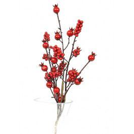 Autronic Větvička, červené jeřabiny,  umělá dekorace