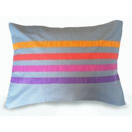 Ariatex s.r.o. Povlak na polštářek ELLE bavlněný fialová 50x70