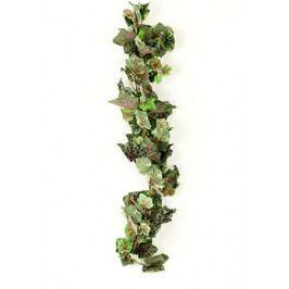 Autronic Umělá květina - girlanda vinné listy , barva zelenošedá