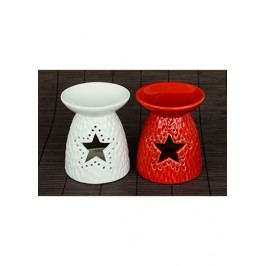 Autronic Aroma lampa, porcelánová, barva bílá nebo červená