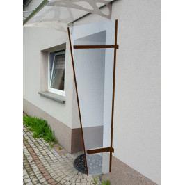 Lanit Plast univerzální boční stěna LANITPLAST UNI hnědá / PLEXI
