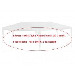 Rojaplast bočnice k altánu 3602 - 6ks - BÍLÁ