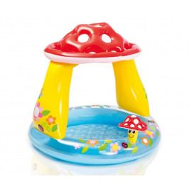 TVPRODUCTS Dětský bazén Muchomůrka 102 x 89 cm s nožní pumpou
