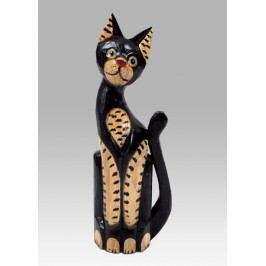Kočka dřevěná