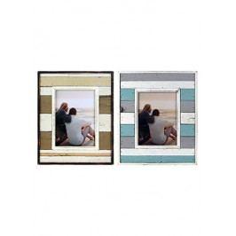 Fotorámeček dřevěný, mix 2 druhů  (vnitřní foto 15*21cm)