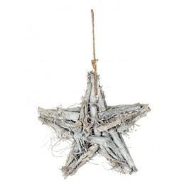 Hvězda z větví šedá