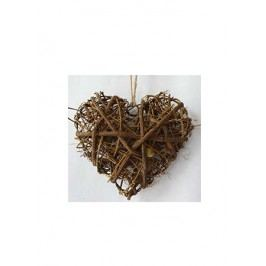 Srdce proutěné - ratan