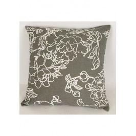 Povlak na polštář  -  šedá barva