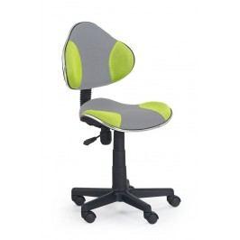 FALCO Dětská židle QZY-G2 - šedo zelená