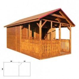 Zahradní domek MO124 lak