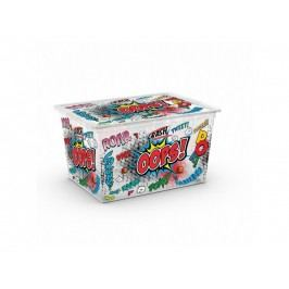 KIS KIS úložný C Box Style Comics XL, Úložný box 50l s kolečky