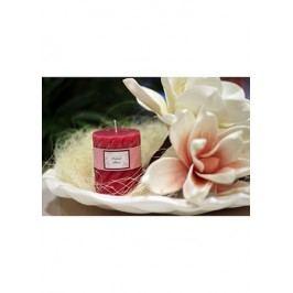 Svíčka vonná, vůně růže, 285g vosku, doba hoření 40hod.