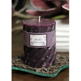 Svíčka vonná, vůně levandule, 285g vosku, doba hoření 40hod.