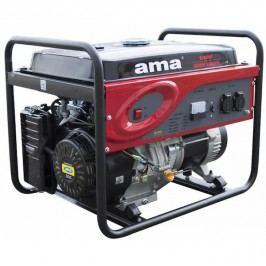 AMA Czech s.r.o. Elektrocentrála s elektrickým startérem 5,5 kW, benzin, 230 V (89426)