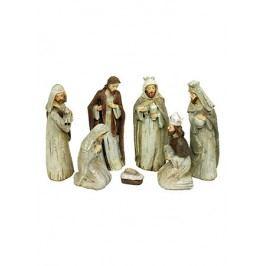 Betlém -figurky polyresinové, 7kusů v setu
