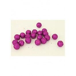Autronic Vánoční dekorační koule fialová. Cena za 1 polybag