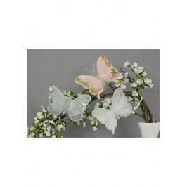 Motýl s klipem, cena za 3ks/box, mix 2 barevných variant