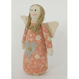Andělka, textilní dekorace