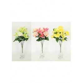 Puget umělých květin, mix barev