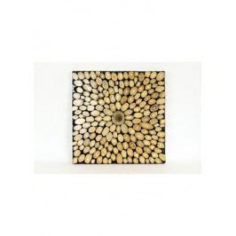 Dřevořezba - nástěnný obraz (teakové dřevo)