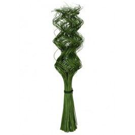 Přírodní materiál - spirálové větve, svazek 150ks
