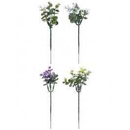 Květina umělá - eucalyptus barevný