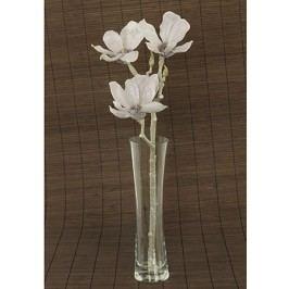 Magnolie umělá květina, staro-fialová glitrovaná