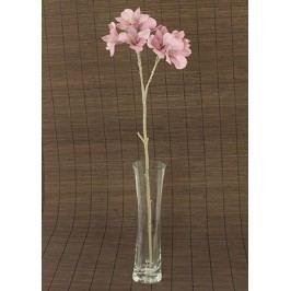 Alstromerie umělá květina, staro-růžová glitrovaná