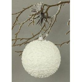 Koule bíla s glitry, dekorační