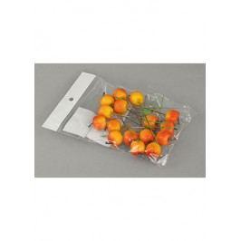 Autronic Sada jablíček s drátkem - oranžová. Cena za 1 polybag