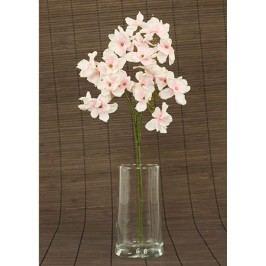 Hortenzie umělá květina, růžová glitrovaná