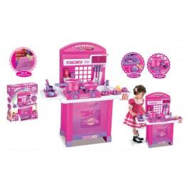 G21 Hračka G21 Dětská kuchyňka Superior s příslušenstvím růžová