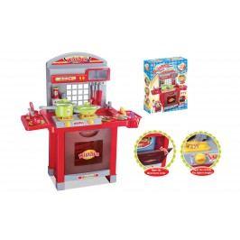 G21 Dětská kuchyňka G21 Superior s příslušenstvím červená
