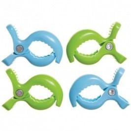 Dreambaby DreamBaby Sada kolíčků 2 Blue , 2 Green 14805-2 Blue , 2 Green