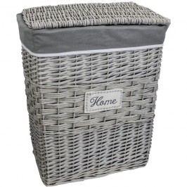koš na prádlo šedý P0285