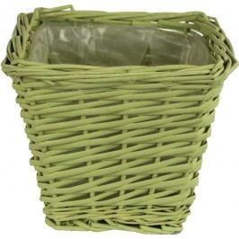 květináč zelený  17 x 17 cm