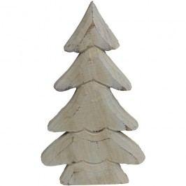 dekorační stromeček bílý velký, D0064