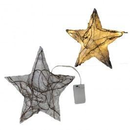 hvězda s LED osvětlením malá, X0084/M