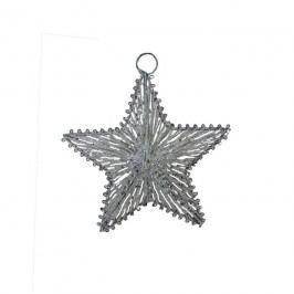 hvězda z provázků 3D velká, X0060