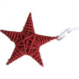 Hvězda 15cm červená, P0112-08