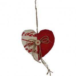 srdce k zavěšení červené, X0045