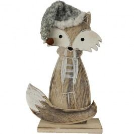 Liška dřevěná D0195