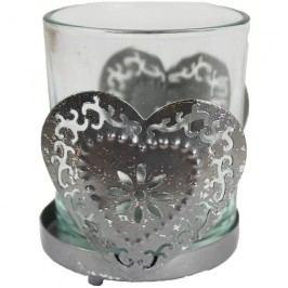 kovová dekorace na svíčku, K0050