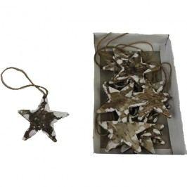 závěsné hvězdy 7cm, 12ks, P0131