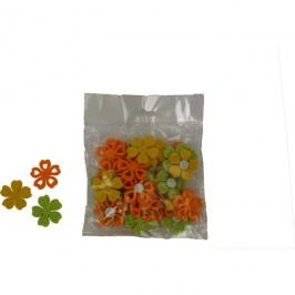 Jarní dekorace květ, sada 36 ks  X0148