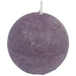 svíčka koule fialová, pr. 8 cm, S0013-11