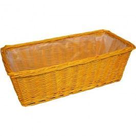 proutěný truhlík střední 381495/SO oranžový